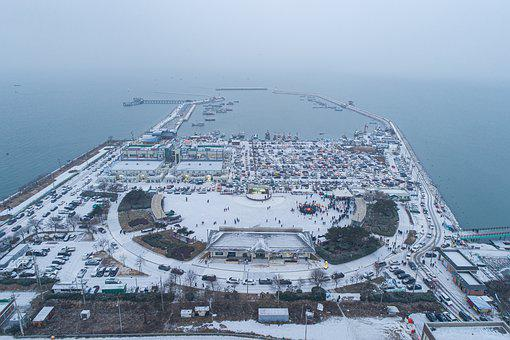 Ultimate Horizontal Resistance, Winter, Snow, Sea, Port