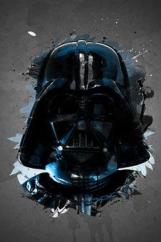Darth Vader, Star Wars, Film, Skywalker, Space, Vader