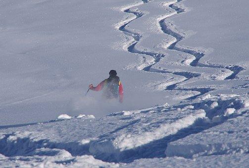 Ski, Touring Skis, Skiing, Backcountry Skiiing, Winter