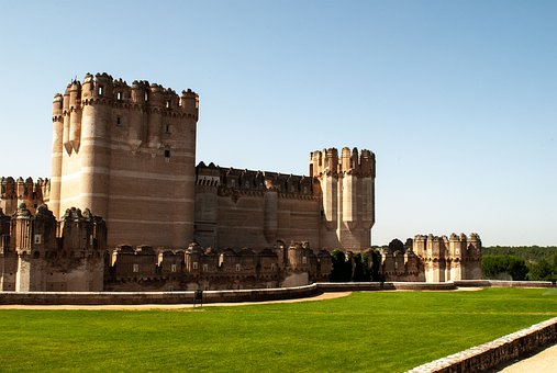 Spain, Coca, Fortification, Castle, Architecture, Tower