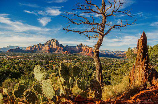 Sedona, Sandstone, Red Rock, Arizona, Landscape, Scenic