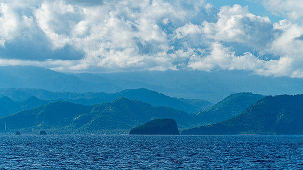 Sea, Indonesia, Bali, Beaches, Ocean, Blue, Asia