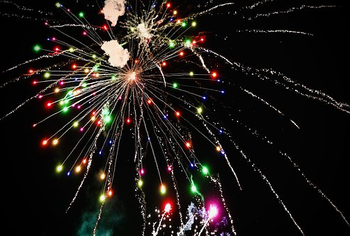 Fireworks, Colorful, Celebration, Joy, Celebrate