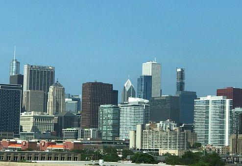 Cityscape, Chicago, Skyscraper