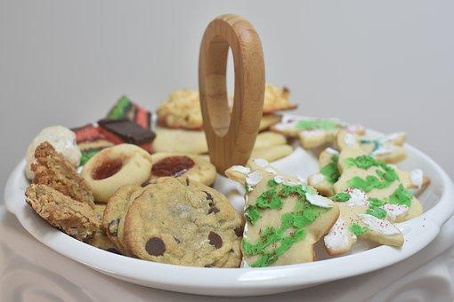 Christmas Cookies, Chocolate Chip Cookies