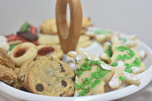 Christmas Cookies, Chocolate Chip Cookies