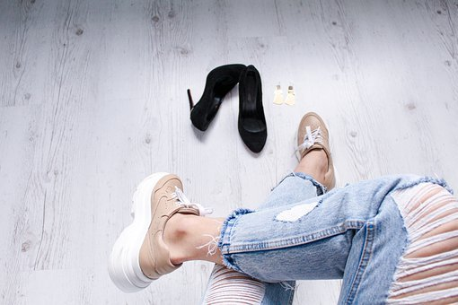 Shoes, Flat Lay, Clothes, Fashion, Lifestyle, Clothing