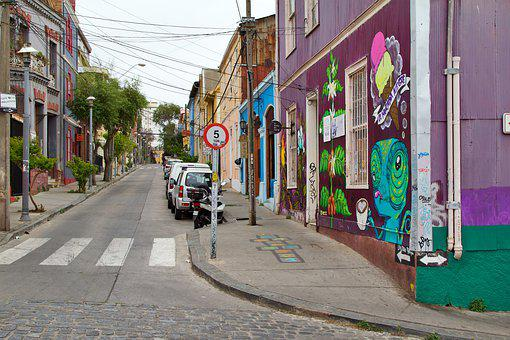 Valparaiso, Chile, Colorful, Color, Creativity, Culture