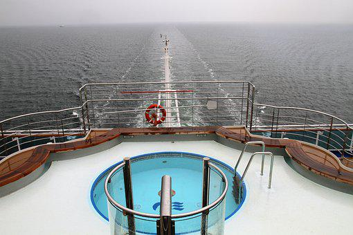 Stern, Cruise, Ship, Tourist, Travel, Cruising