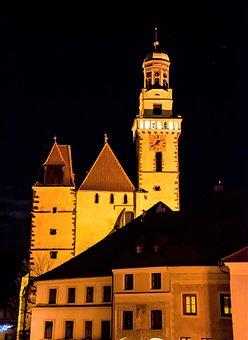 Prachatice, Czech Republic, Bohemia, Cz, Ceksy, Church