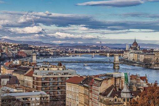 Budapest, City, Hungary, Architecture, Danube, River