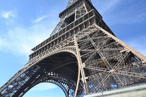 Eiffel Tower, Paris, France, Attraction, Symbol