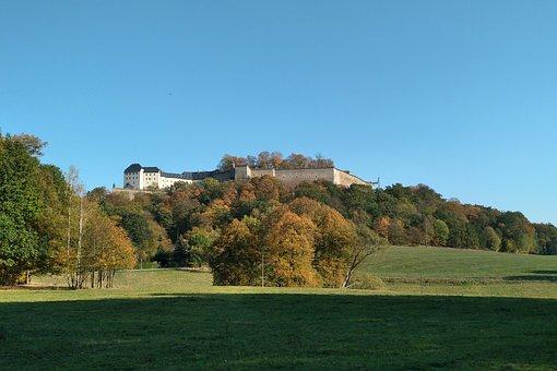 Fortress, Königstein, Saxon Switzerland, Devil Basic