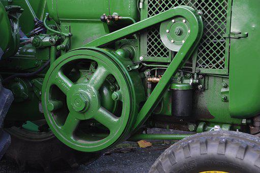 Tractor, Gear, Agricultural, Machines, Industry
