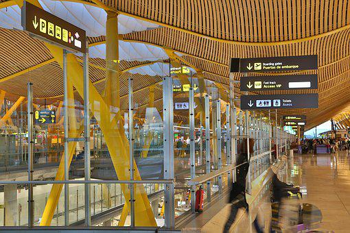 Airport, Tex Free, Madrid, Spain, Barajas, City, Refund