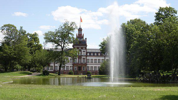 Castle, Philippsruhe, Hesse, Main Banks, Phillipsruh