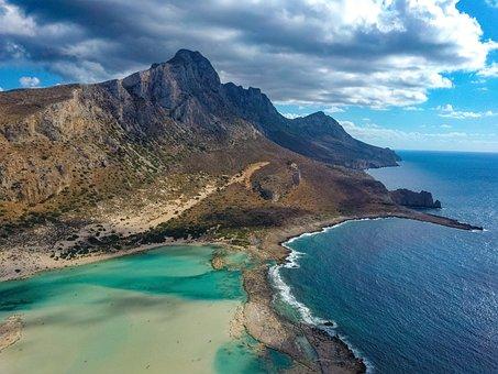 Crete, Greece, Balos Beach, Nature, Landscape, Sea