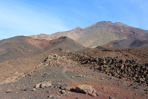 Teide, Tenerife, Pico Viejo, Nature, Spain, Landscape