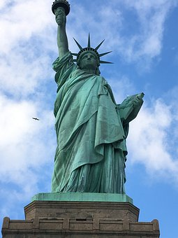Statue Of Liberty, Liberty Island, New York, Winter