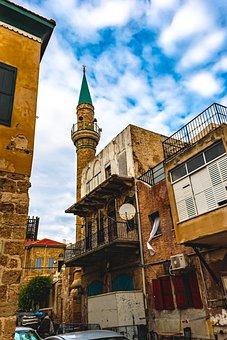 Old Akko, Multicultural, Historic, Acre, Bricks, Israel