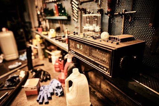 Tools, Radio, Old, Nostalgia, Vintage, History