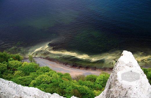 White Cliffs, Rügen, Coast, Baltic Sea, Sea, Water