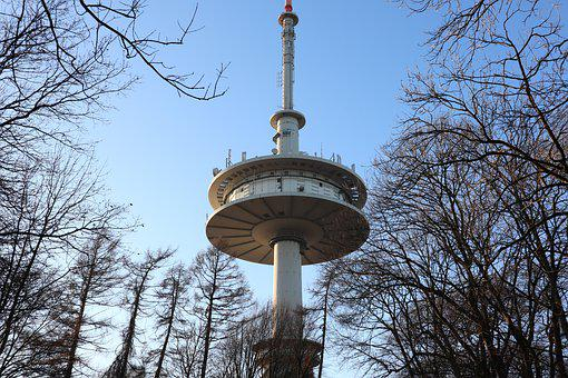 Tv Tower, Tower, Watch Tv, Architecture, Sky, Landmark