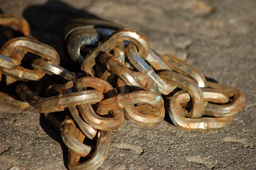 Chain, Jerseys, Steel, Link, Chains