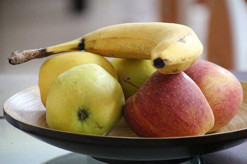 Still Life, Apple, Banana, Fruit, Fruits