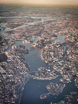 Stockholm, Sweden, Architecture, Sea, City, Scandinavia