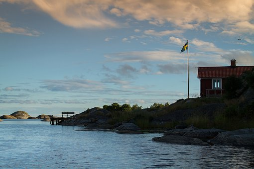 Sweden, Archipelago, Water, Summer, Scandinavia