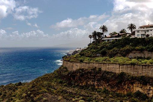 Vacations, Travel, Coast, Sea, Tenerife, Tourism