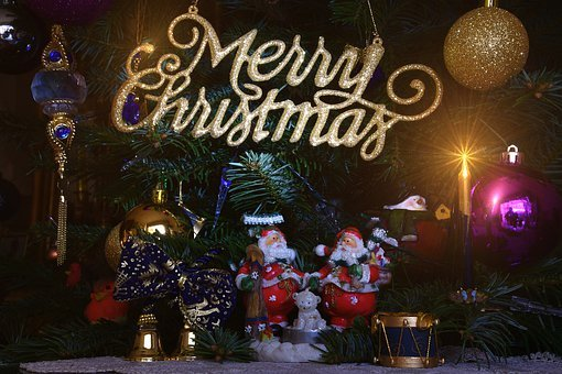 Christmas, Tree, Merry Christmas, Decoration