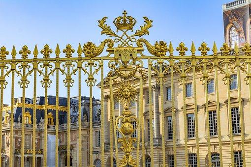 Paris, Versailles, Architecture, Palace, Historical