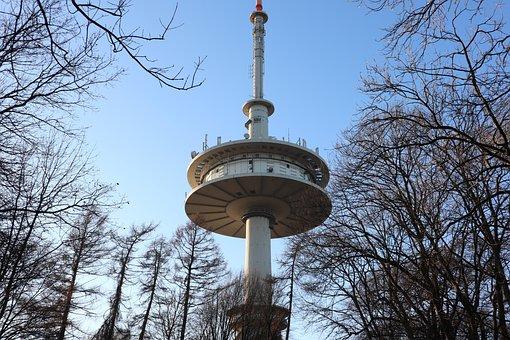 Tv Tower, Tower, Watch Tv, Architecture, Sky, Landmark