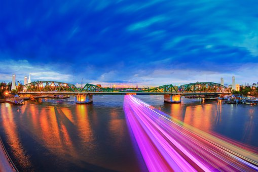 Thai, Memory Bridge, River, Bridge, Water, Landmark