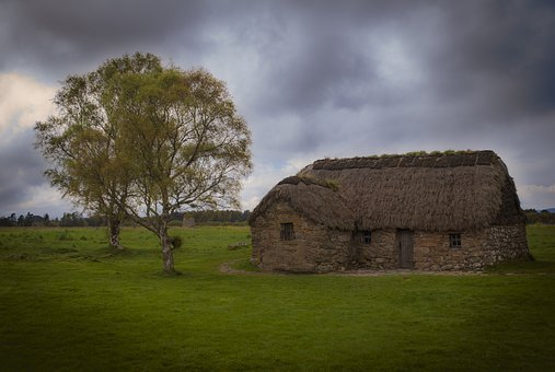 Cottage, Scotland, Abandoned