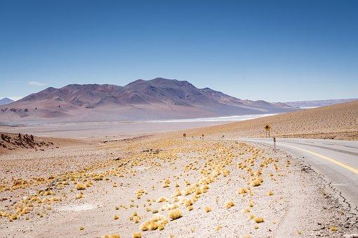 Andes, Landscape, Nature, Mountains, Sky, Lake, Rest
