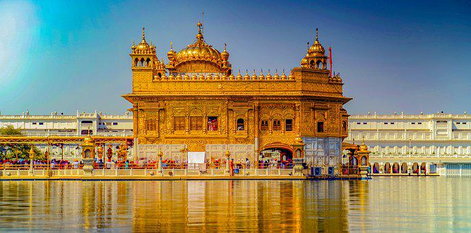 Architecture, Indian, Worship, Lake, Travel, Landmark