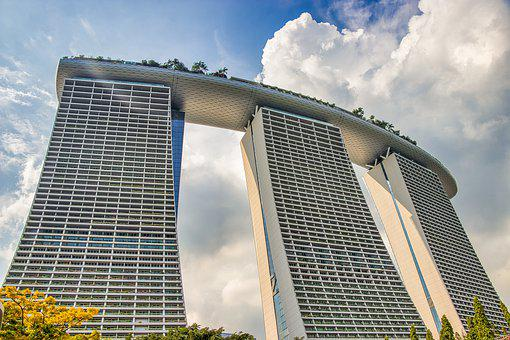 Singapore, Hotel, Architecture, Building, Asia, Travel