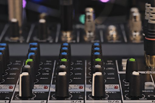 Mixer, Dj, Sound, Music, Audio, Entertainment