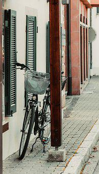 Bike, Basket, Two-leg Stand, Bike Lock, Women's Bicycle