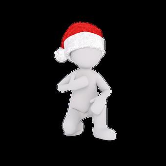 Cap, Christmas, Imp, Figure, Nicholas, Christmas Time