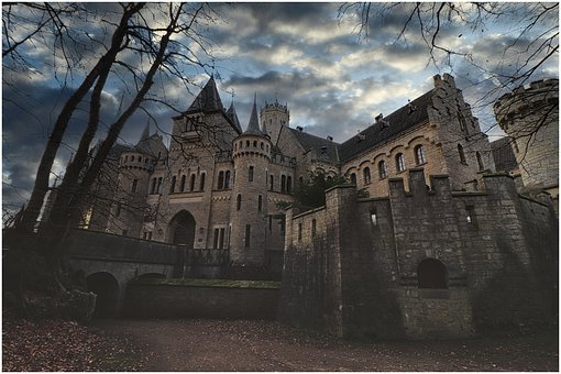 Castle, Mystical, Towers, Wall, Tower, Fortress, Old