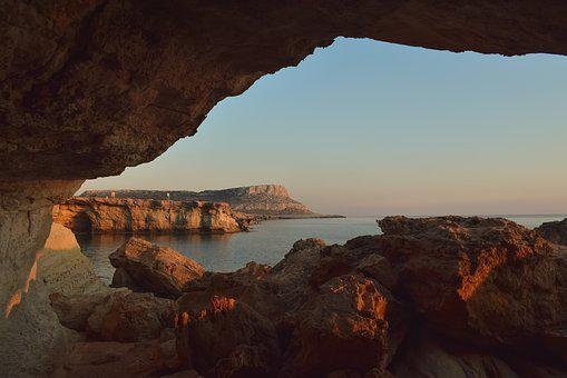 Cyprus, Cavo Greko, National Park, Travel, Rock
