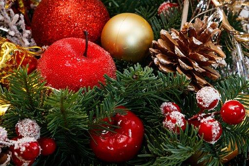 Christmas Decor, Christmas Tree Toy, Fir-tree Branches
