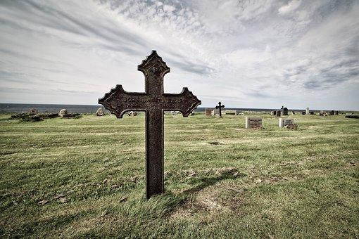 Cross, Tombstone, Cemetery, Tomb
