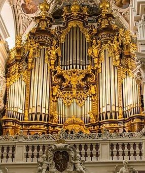 Passau, Dom, Domorgel, Organ, Whistle, Baroque