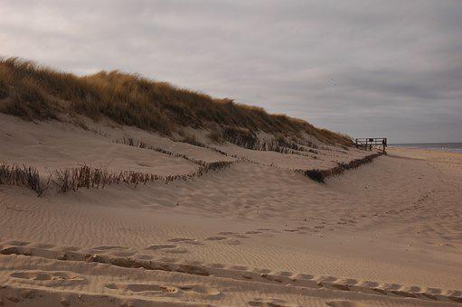Beach, Dune, North Sea, Nature, Sea, Sand, Vacations