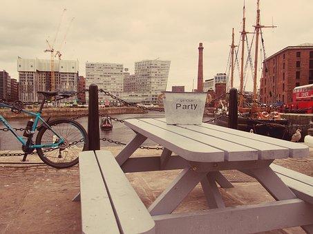 Liverpool, Albert Dock, City, England, Mersey, Landmark